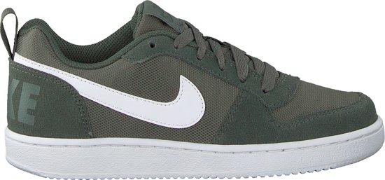 Nike Court Borough Low (Gs) Sneakers Dames - Groen- Maat 39 ...