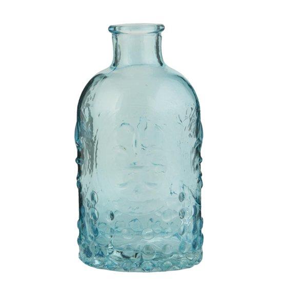 6GL1266BL - Fles - Doorsnede/hoogte: 7 x 13 cm - glas - blauw