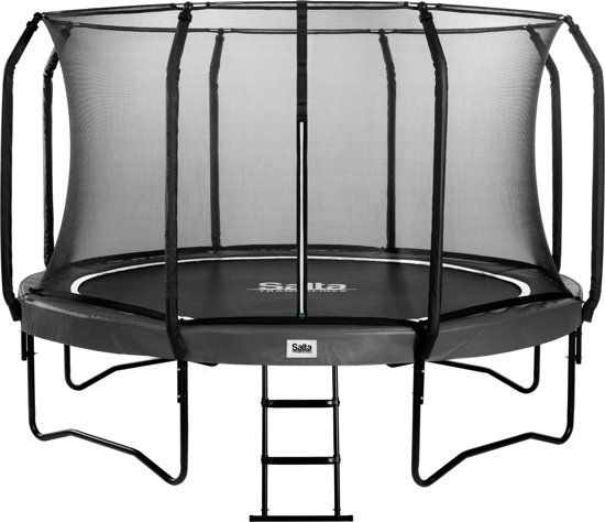 Salta First Class Combo Antraciet 305 cm - Trampoline met Ladder