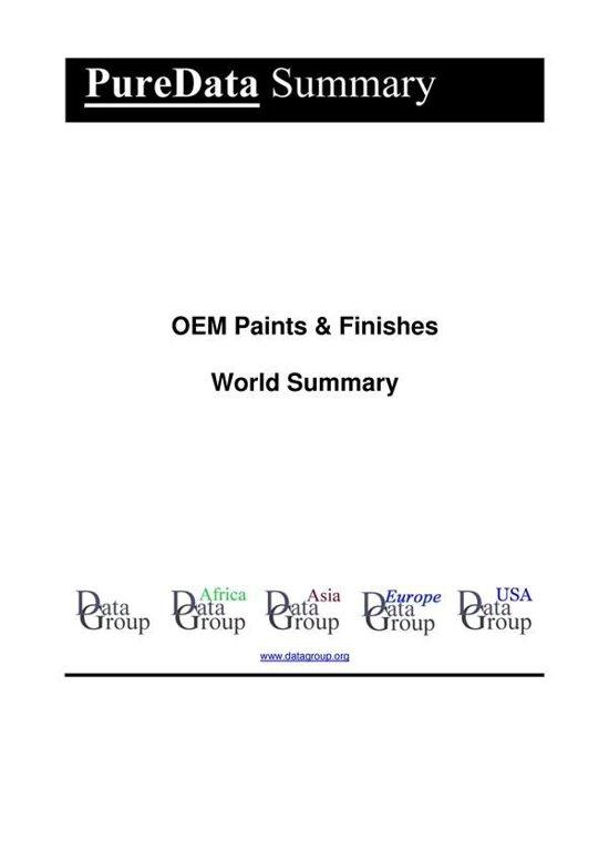 OEM Paints & Finishes World Summary