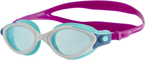 a428079094478f Speedo Female Futura Biofuse Flexiseal Dames Zwembril - Paars - Maat One  Size