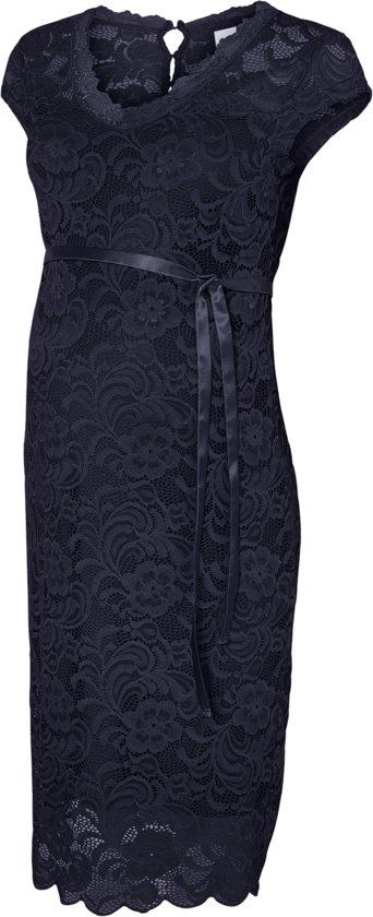 Mamalicous jurk - Navy Blazer