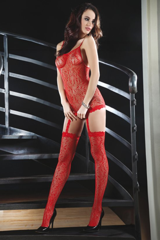 Catriona Catsuit - Rood