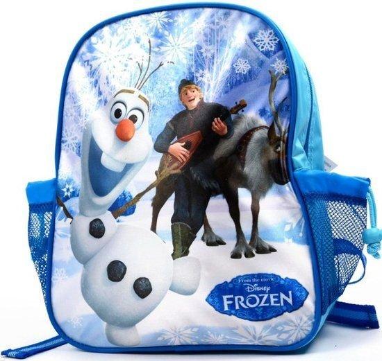2e85c945c52 bol.com | Disney Frozen Olaf & Kristoff Rugzak - Kinderen - Blauw