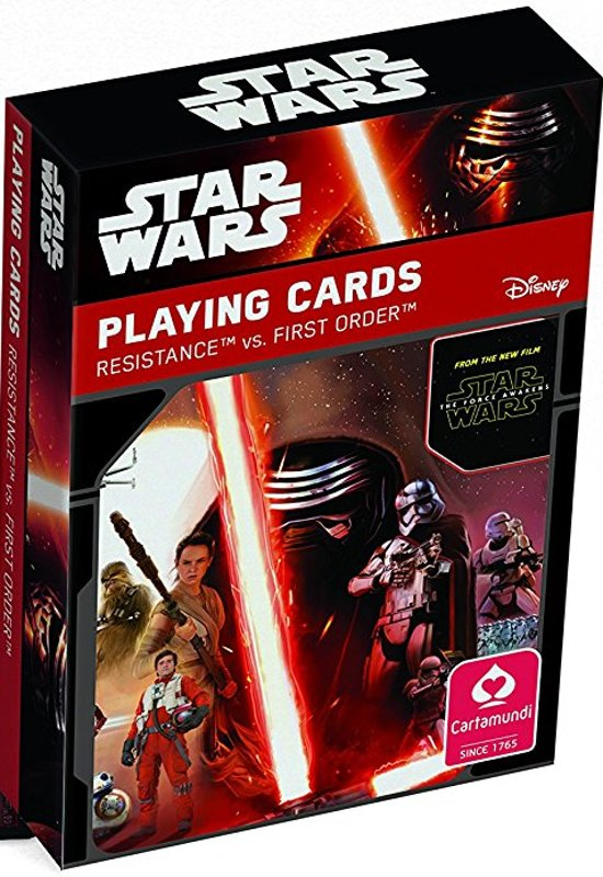 Afbeelding van het spel Star Wars - Speelkaarten - The Force Awakens