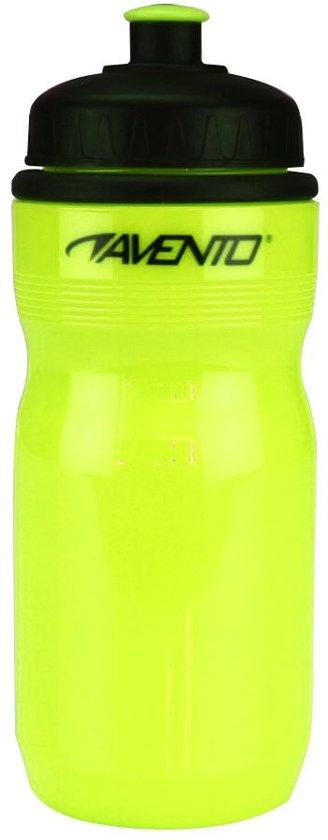 Avento Sportbidon - 0.5 Liter - Fluorgeel/Zwart - 0,50 L