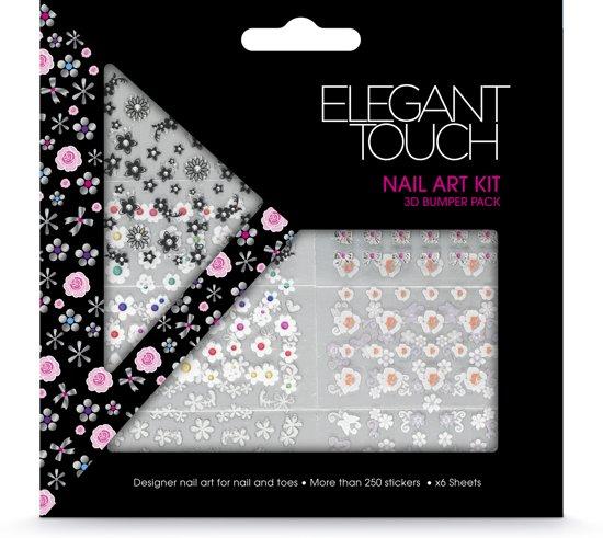 Bol Elegant Touch Nail Art Kit 3d Bumper Pack