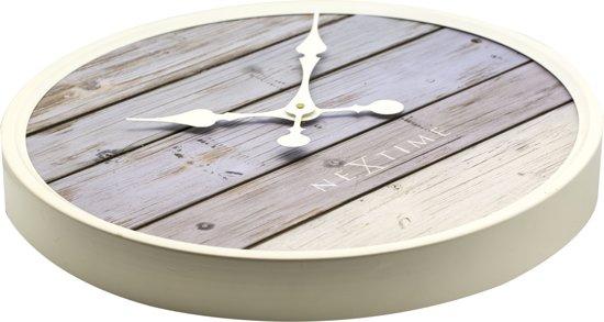 NeXtime Plank Wandklok à 30 cm