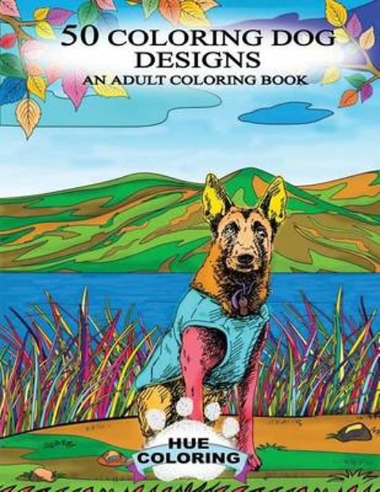 50 Coloring Dog Designs