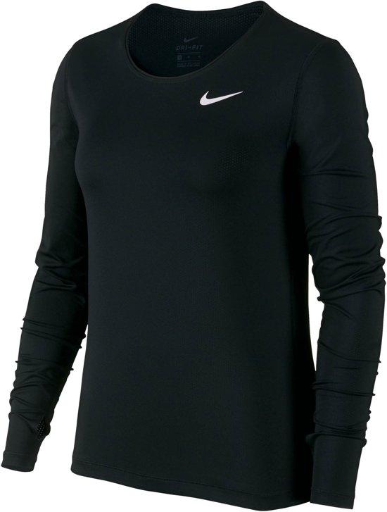 Nike Sportshirt - Maat L  - Vrouwen - zwart