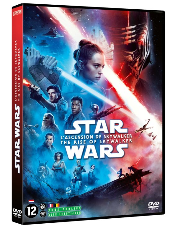 DVD cover van Star Wars IX - The Rise of Skywalker