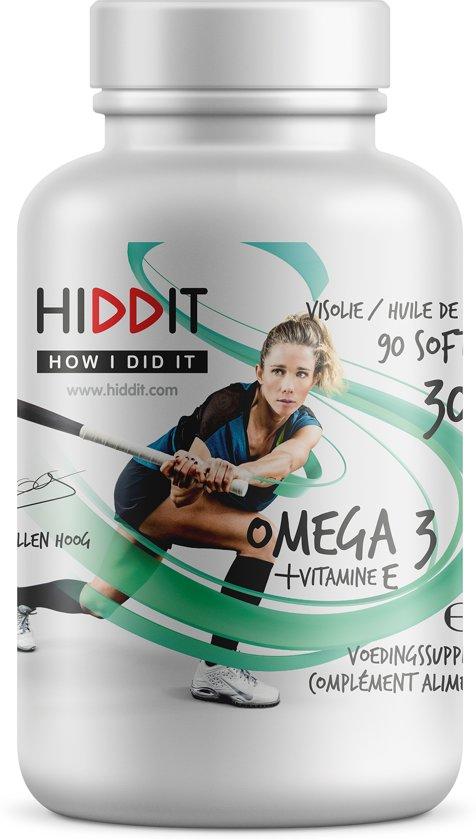 Hiddit - Ellen hoog - visolie omega 3 - 90 st