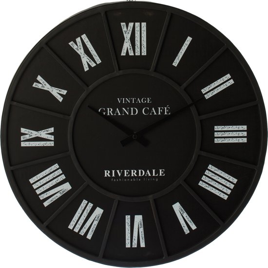 Riverdale Grand Cafe Wandklok à 45 cm