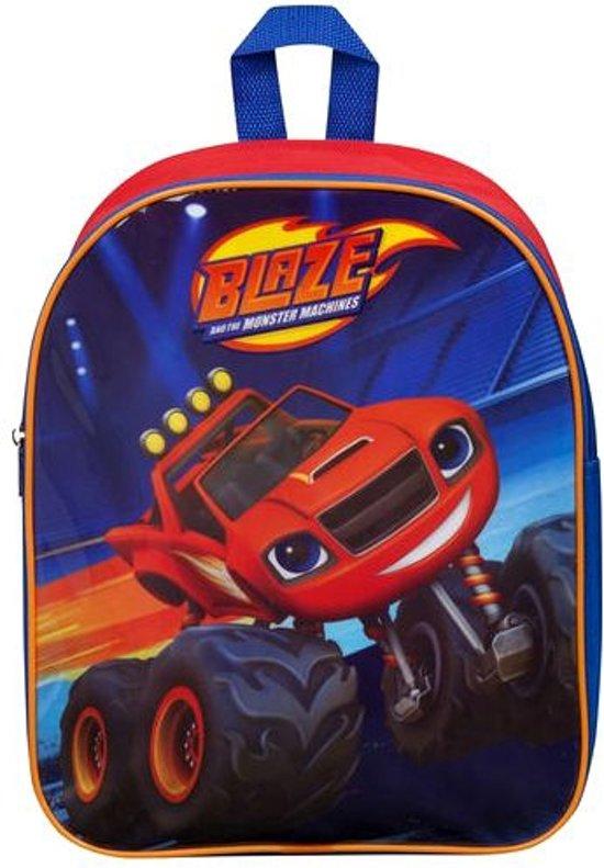 BLAZE en de Monsterwielen Rugzak Rugtas School Tas 2-5 Jaar