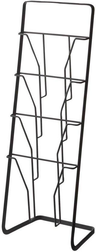 Yamazaki Tijdschriftenrek Magazinerek - Tower zwart - metaal