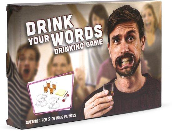 Drink Your Words! - Hilarisch Drankspel - Inclusief bitjes
