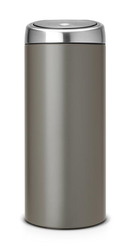 Brabantia Prullenbak Goedkoop.Brabantia Touch Bin Prullenbak 30 L Platinum