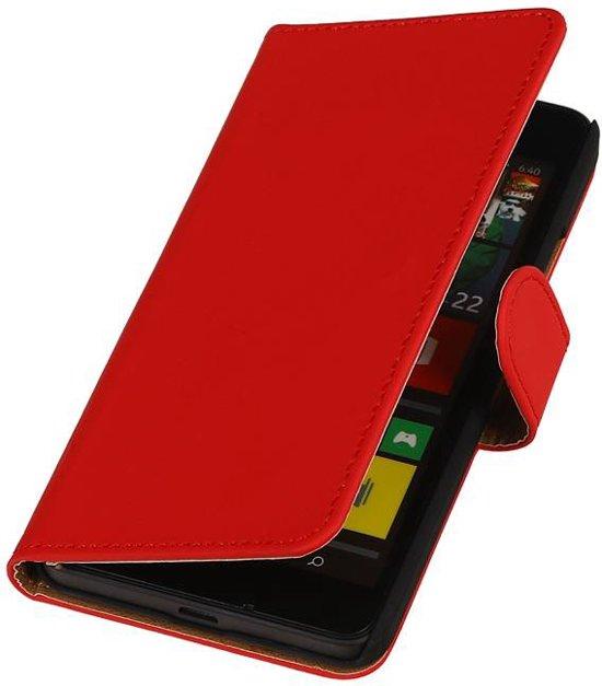 bol.com | Microsoft Lumia 950 xl Hoesje Rood / ihoez-huismerk
