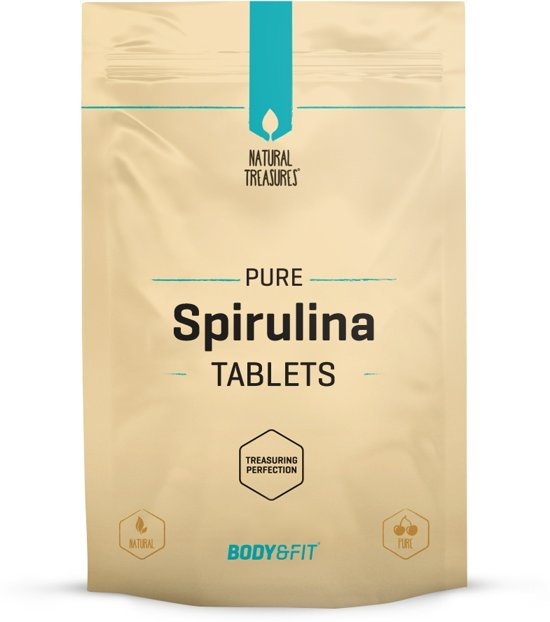 Body & Fit Superfoods Pure Spirulina tabletten - 250 tabletten