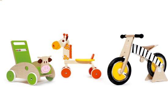 Scratch Giraf Jules 4-Wheel Walker Loopfiets