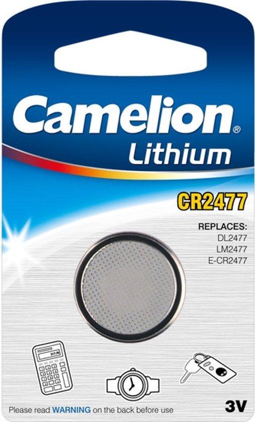 Camelion CR2477 lithium 3v