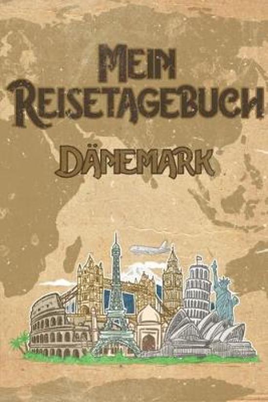 Mein Reisetagebuch D�nemark: 6x9 Reise Journal I Notizbuch mit Checklisten zum Ausf�llen I Perfektes Geschenk f�r den Trip nach D�nemark f�r jeden