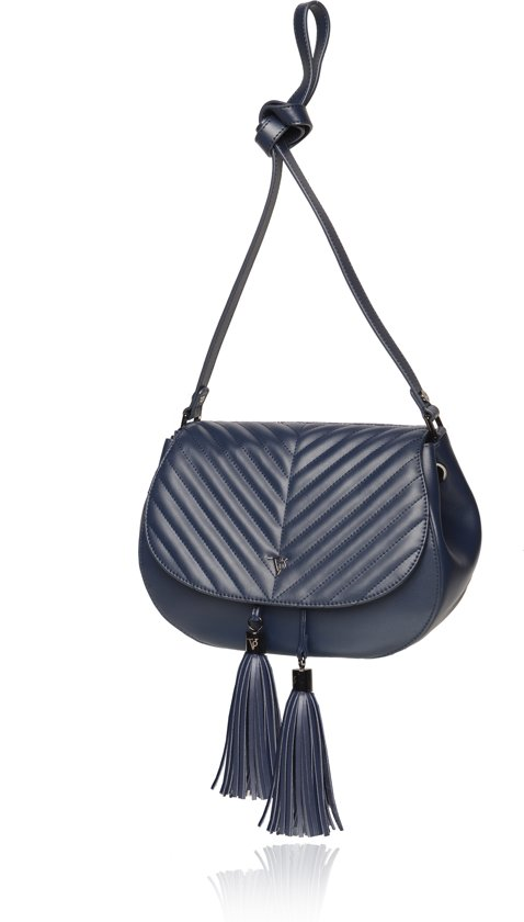 Wonderlijk bol.com | TOV Essentials - Farrah saddle bag - Crossbodytas - Navy LL-48