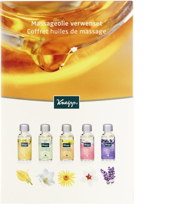 Kneipp Massageolie - 5 delig - Geschenkverpakking