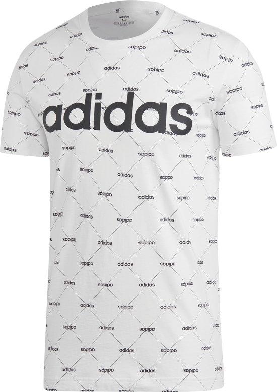 bol.com | Adidas Linear Graphic T-shirt Wit Heren
