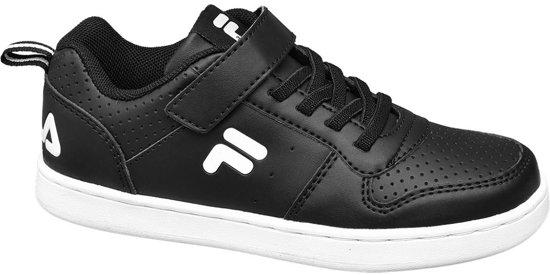 topmerken klassieke stijl specifiek aanbod Fila Kinderen Zwarte Fila sneaker klittenband - Maat 31