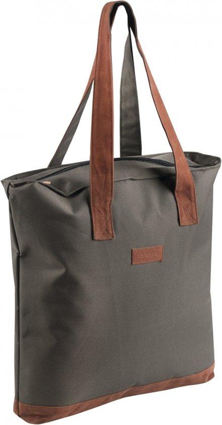 Chappo Shopper - Lichte design handtas - 42 x 38 x 8cm - Khaki