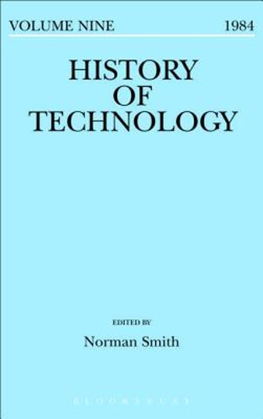 History of Technology Volume 9