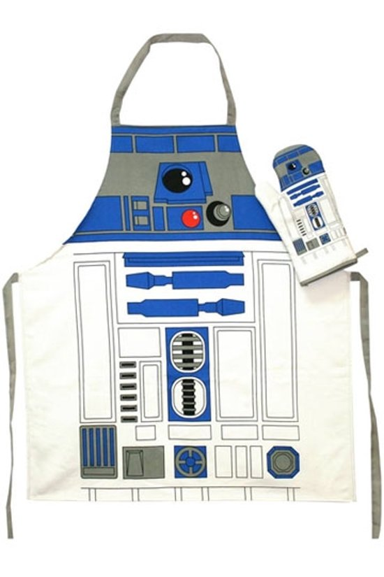 STAR WARS - Apron and Oven Mitt - R2-D2 (GLASS POT)
