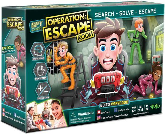 Spy Code Operation: Escape Room - Actiespel