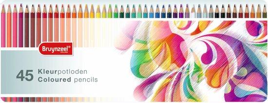 Kleurblik 45 kleurpotloden Paisley