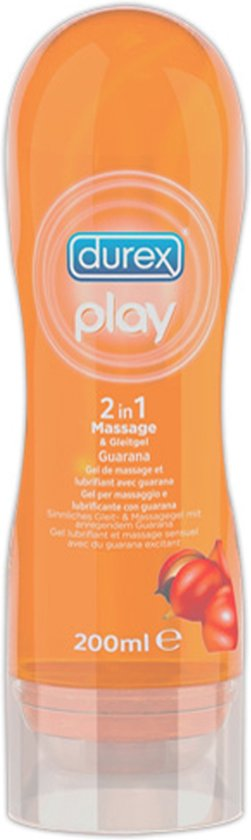 Durex Play Massage Olie Guarana - 200 ml
