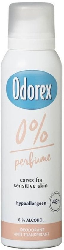 Odorex deospray 0% 150 ml