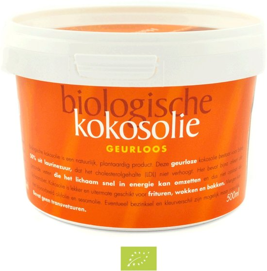 Omega&more kokosolie geurloos - 500 ml