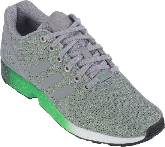 adidas ZX Flux - Loopschoenen - Heren - Maat 44 - Grijs/Groen/Wit