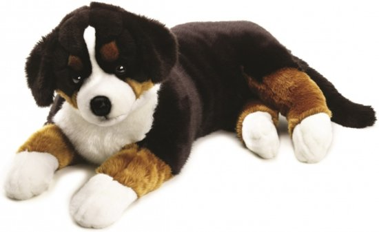Grote honden knuffel Berner Sennen 95 cm