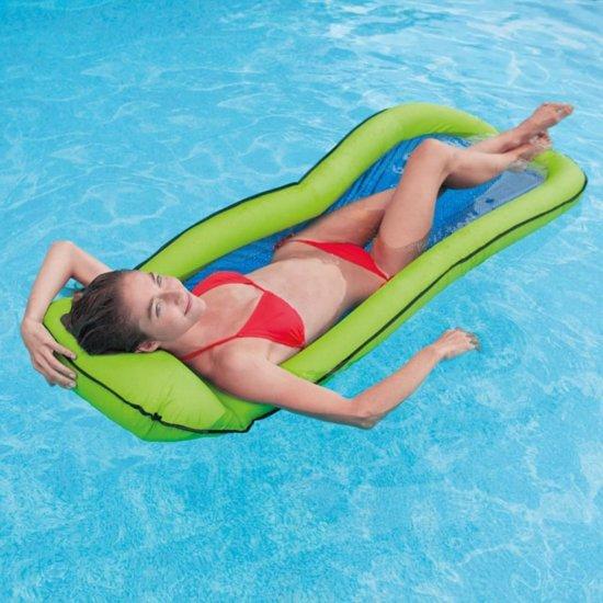 Intex Zwembad loungemat van gaas 58836NP