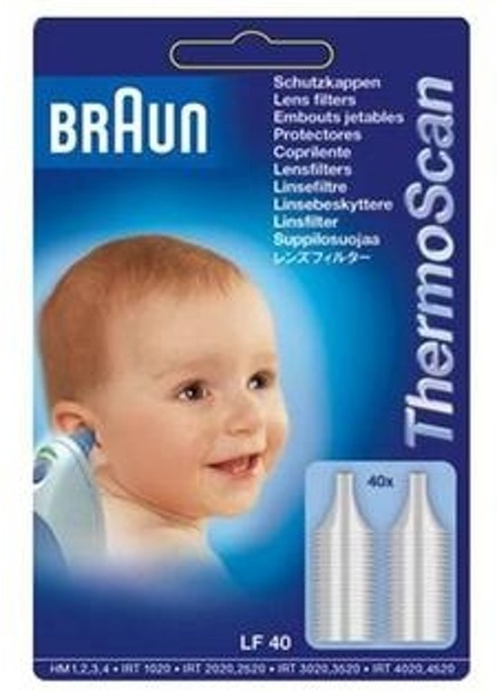 Braun - Lensfilters voor thermometer - Braun