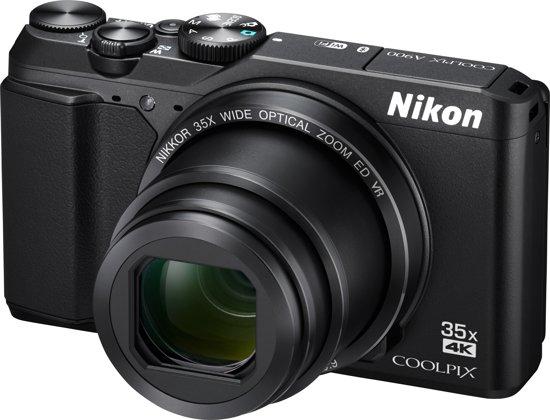 Nikon Coolpix A900 - Zwart