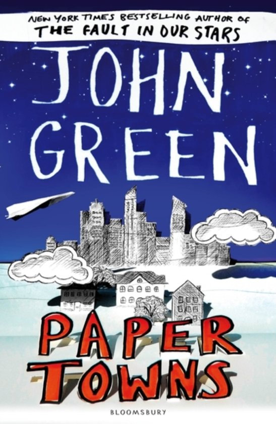 Final, sorry, Paper towns john green matchless answer