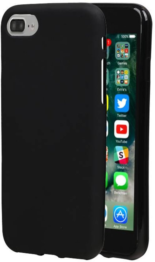 TPU Hoesje voor iPhone 7 / 8 Zwart