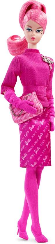 Barbie Fashion Model Collection 29 cm - Roze Barbiepop