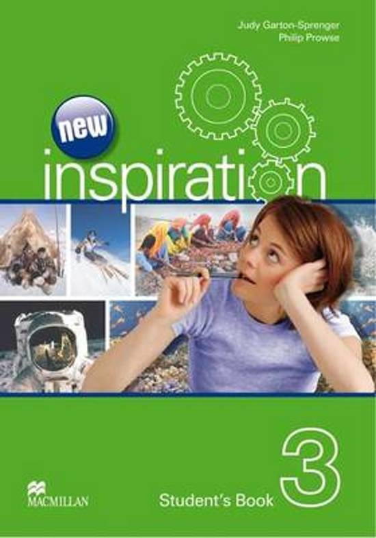 New Inspiration - Student Book 3 - CEF A2 / B1