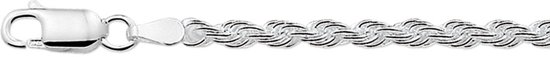 The Jewelry Collection Armband Koord 3,0 mm - Zilver