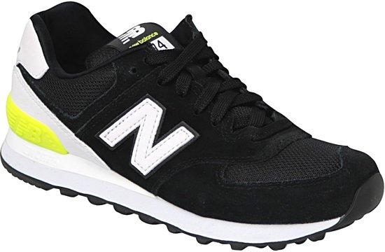 d4fa3884868 New Balance 574 Classics Traditionnels Sportschoenen - Maat 37.5 - Vrouwen  - zwart/wit/