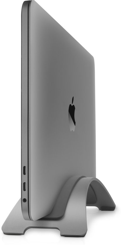 Space Grey - Twelve South BookArc Vertical Stand Apple MacBook